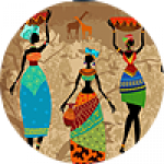 "Картины на холсте по теме ""Африканские мотивы"""