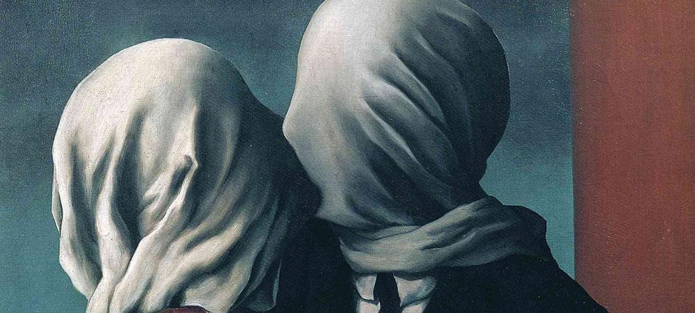 Влюбленные в картины-загадки Рене Магритта