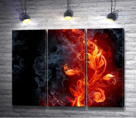 Огненный цветок