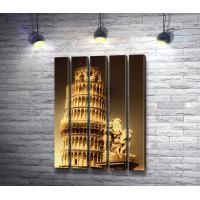 Вид на Пизанскую башню, Пиза