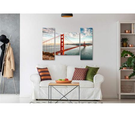"""Висячий мост """"Золотые Ворота"""" в Сан-Франциско"""