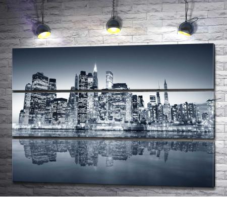 Ночной мегаполис, Нью-Йорк