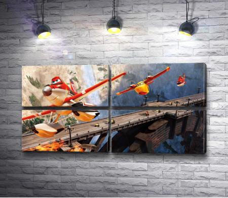 """Дасти """"Самолеты: Огонь и Вода"""" - Дисней"""