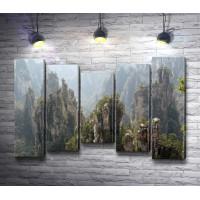Удивительный парк Чжанцзяцзе. Китай