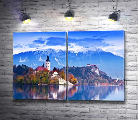 Средневековый замок в Словении