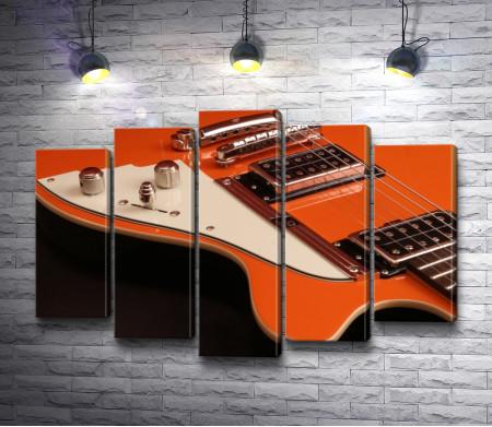 Оранжевая гитара