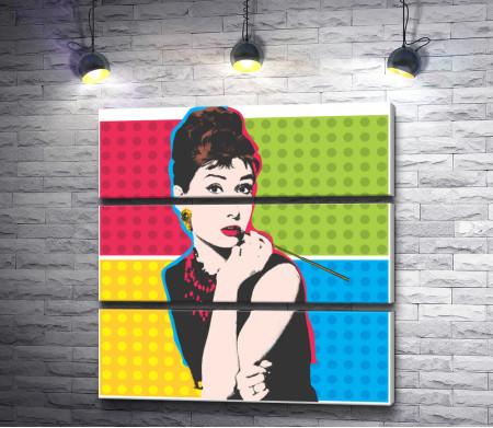 "Одри Хепберн ""Завтрак у Тиффани"". Плакат"