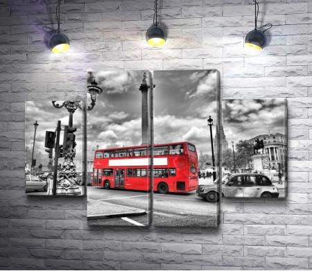 Лондонский красный автобус