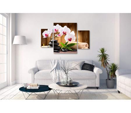 Спа композиция с орхидеями