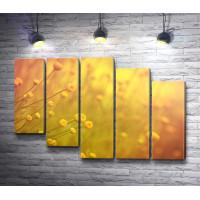 Луговые желтые цветы