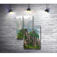 Горный хребет Циньлин. Китай