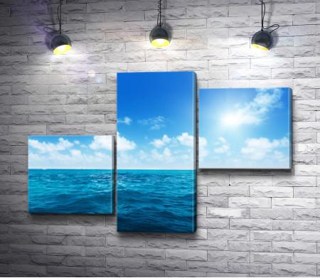Облачное небо над морем