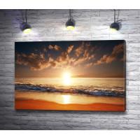 Восход солнца над океаном, Гавайи