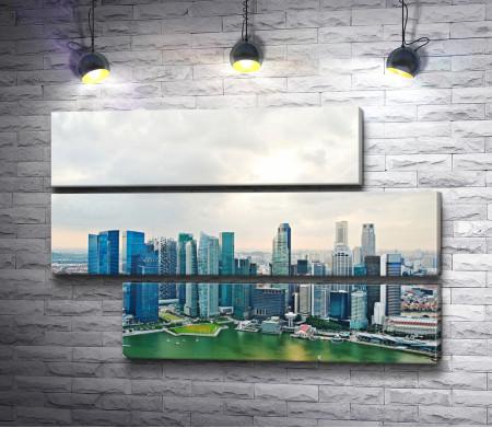 Фантастический вид на Сингапур
