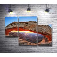Меса Арка на рассвете, Национальный парк Каньонлендс
