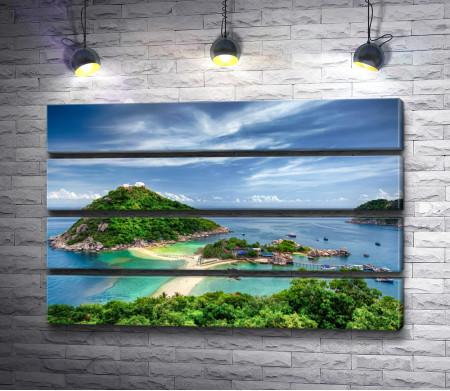 Обзорный вид на остров Самуи,  Таиланд