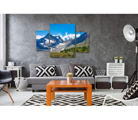 Живописный горный ландшафт