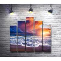 Фантастический рассвет над Изола-делле-Корренти