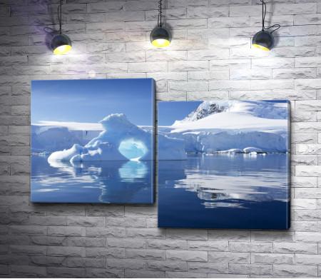 Ледник в Антарктике