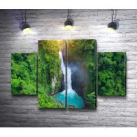 Ландшафт с водопадом. Таиланд