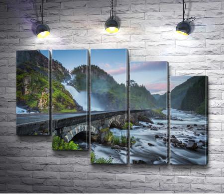 Мост Одда Валли, Норвегия