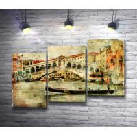 Венецианские гондолы на Гранд-канале
