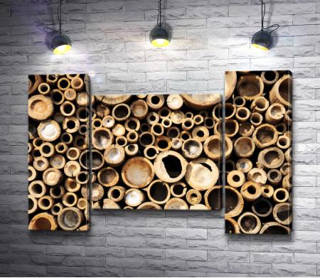 Бамбуковая текстура
