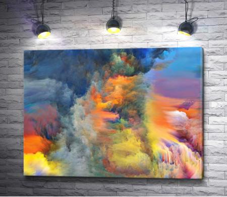 Цветные облака. Абстракция