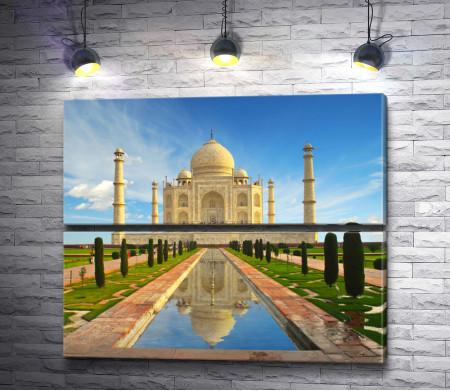 Мавзолей-мечеть Тадж-Махал. Индия