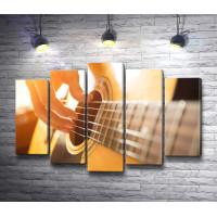 Классическая шестиструнная гитара