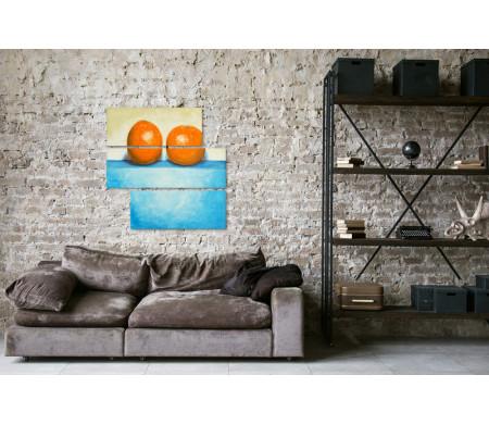 Натюрморт. Два апельсина