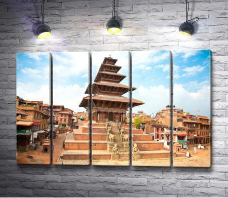 Архитектура на площади Катманду,  Непал