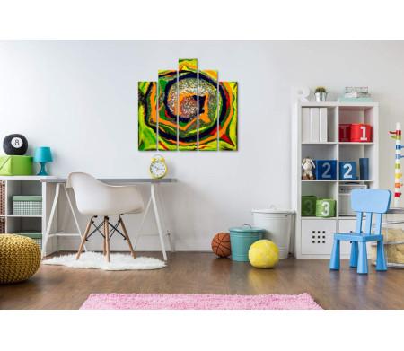 Разноцветная спираль