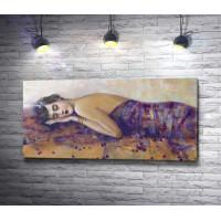 Лилия Кулианионак - Портрет спящей женщины