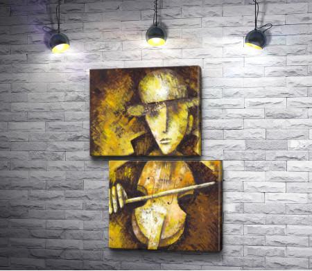 Мужчина со скрипкой