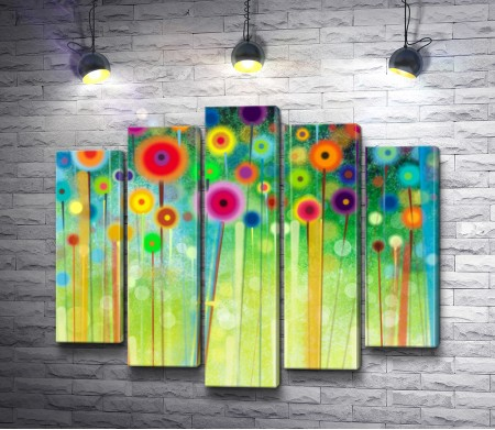 Цветы в абстракции
