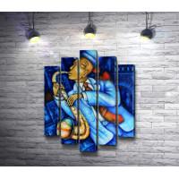 Джазовый музыкант-саксофонист
