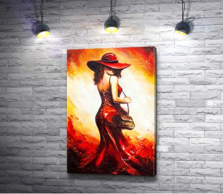 Леди в красном платье