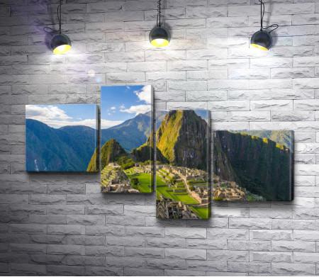 Горный хребет в Перу