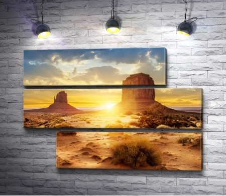 Пустыня и ее невероятный закат