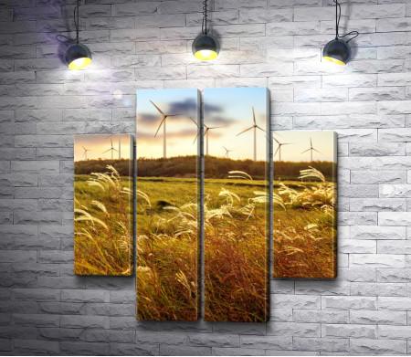 Ветряки на ветру