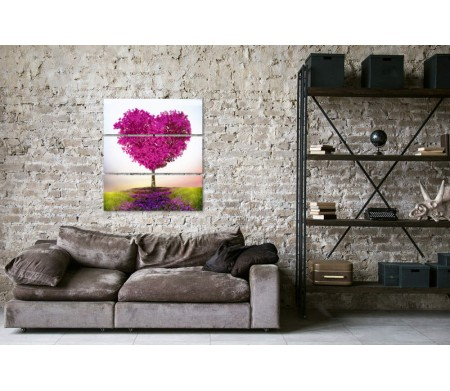 Дерево в форме сердца