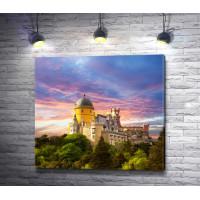 Дворец Пена и прекрасное небо
