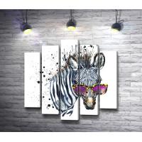 Деловая зебра