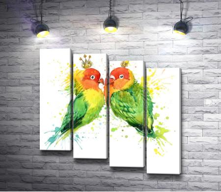 Любовь попугаев