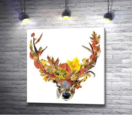 Осенний олень