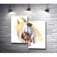 Потешная лошадь