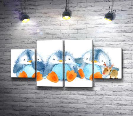 Детки пингвинчики