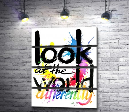 """Текст """"Look at the world"""""""