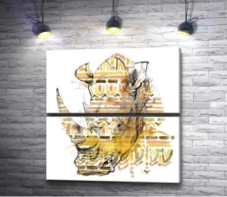 Грозный носорог